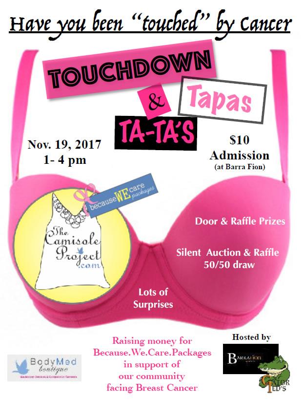 Touchdown Tapas and Tatas